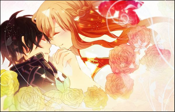 Tags: Anime, Susumu (Re;), Sword Art Online, Kirigaya Kazuto, Yuuki Asuna