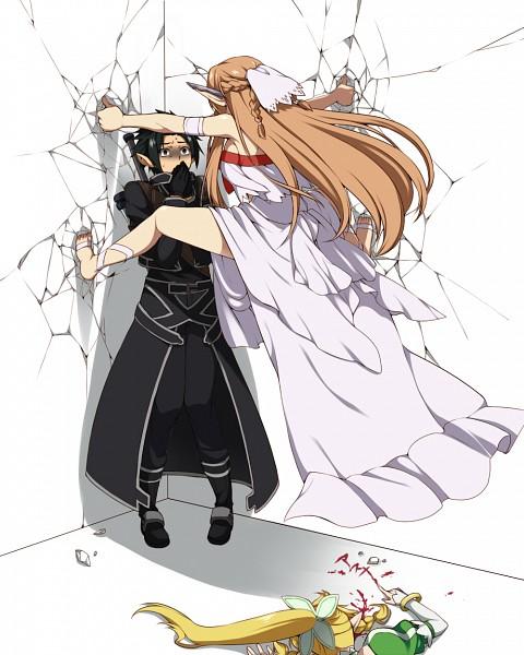 Tags: Anime, Takatsuki Ichi, Sword Art Online, Kirito (ALO), Yuuki Asuna, Kirigaya Suguha, Titania (ALO), Kirigaya Kazuto, Lyfa (ALO), Cicada Block