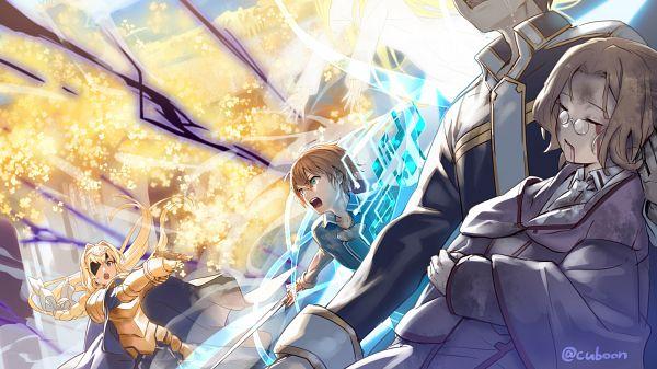 Tags: Anime, Mismi, Sword Art Online, Cardinal (Sword Art Online), Alice Schuberg, Eugeo (Sword Art Online), Kirigaya Kazuto