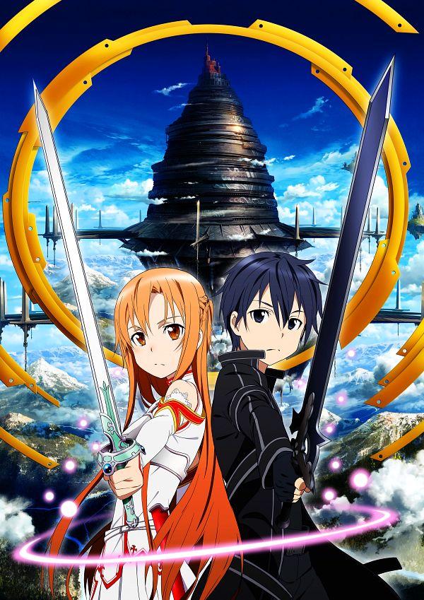 Tags: Anime, A-1 Pictures, Sword Art Online, Yuuki Asuna, Kirigaya Kazuto, Official Art