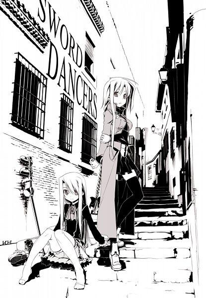 Tags: Anime, Himura Kiseki, Sword Dancers (Fate), Fate/stay night, Illyasviel von Einzbern, Archerko