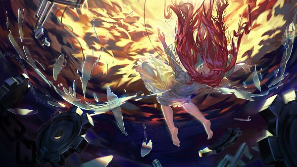 Tags: Anime, Syh3iua83, Original, Wallpaper, Facebook Cover, Pixiv