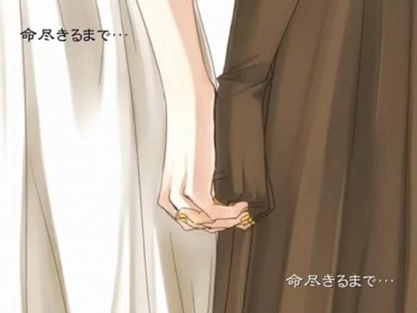 Tags: Anime, Suzunosuke, VOCALOID, Kagamine Len, Kagamine Rin, Screenshot, Synchronicity, Kagamine Mirrors