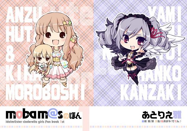 Tags: Anime, Fujieda Miyabi, THE iDOLM@STER: Cinderella Girls, Moroboshi Kirari, Futaba Anzu, Kanzaki Ranko, Idolmaster: Cinderella Girls