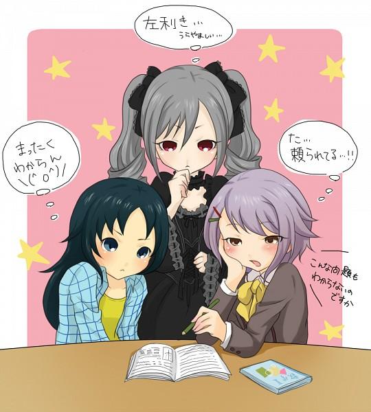 Tags: Anime, Pixiv Id 2280213, THE iDOLM@STER: Cinderella Girls, Koshimizu Sachiko, Nanjou Hikaru, Kanzaki Ranko, Idolmaster: Cinderella Girls