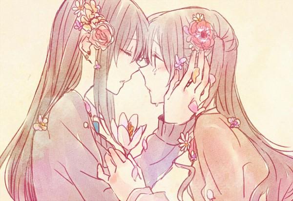 Tags: Anime, Pixiv Id 1278379, THE iDOLM@STER: Cinderella Girls, Shimamura Uzuki, Shibuya Rin, Fanart From Pixiv, Pixiv, Fanart, Idolmaster: Cinderella Girls