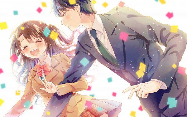 Tags: Anime, Pixiv Id 2946956, THE iDOLM@STER: Cinderella Girls, Producer (THE iDOLM@STER: Cinderella Girls), Shimamura Uzuki, HD Wallpaper, PNG Conversion, Wallpaper, Idolmaster: Cinderella Girls