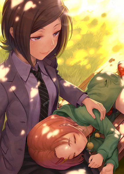 Tags: Anime, Terumii, THE iDOLM@STER: Cinderella Girls, Tougou Ai, Ryuuzaki Kaoru, Fanart, Idolmaster: Cinderella Girls