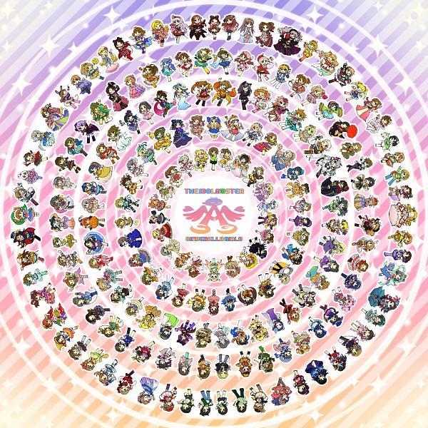 Tags: Anime, Tameste, THE iDOLM@STER: Cinderella Girls, THE iDOLM@STER, Egami Tsubaki, Akizuki Ritsuko, Maekawa Miku, Mizuki Seira, Murakami Tomoe, Anzai Miyako, Saejima Kiyomi, Mimura Kanako, Mochizuki Hijiri, Idolmaster: Cinderella Girls