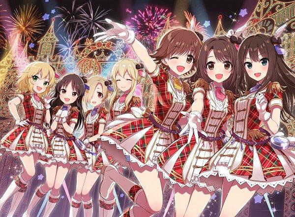Tags: Anime, Morikura En, THE iDOLM@STER: Cinderella Girls, Shirasaka Koume, Tachibana Alice, Shibuya Rin, Honda Mio, Sakurai Momoka (Idolmaster), Clarice (Idolmaster), Shimamura Uzuki, Stage, Idolmaster: Cinderella Girls
