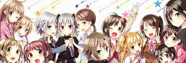 Tags: Anime, Sakuragi Ren, Not Equal Pink 2, THE iDOLM@STER: Cinderella Girls, Anastasia (Idolmaster), Futaba Anzu, Akagi Miria, Jougasaki Rika, Honda Mio, Kanzaki Ranko, Nitta Minami, Maekawa Miku, Mimura Kanako, Idolmaster: Cinderella Girls