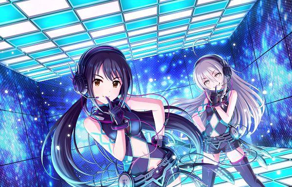 Tags: Anime, THE iDOLM@STER: Cinderella Girls, Hoshi Shouko, Nakano Yuka, Nothing But You, Official Art, Official Card Illustration, Idolmaster: Cinderella Girls