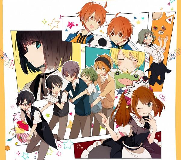 Tags: Anime, 4 (Pixiv1341877), THE iDOLM@STER: SideM, Aoi Yuusuke, Kagura Rei, Sakaki Natsuki, Mizushima Saki, Fuyumi Jun, Pierre (iDOLM@STER: SideM), Uzuki Makio, Wakazato Haruna, Aoi Kyousuke, Akiyama Hayato