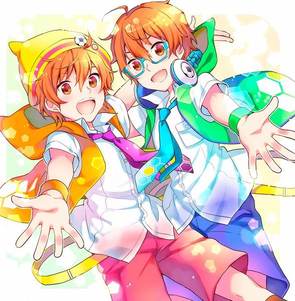 Tags: Anime, Kiyose Akame, THE iDOLM@STER: SideM, Aoi Yuusuke, Aoi Kyousuke