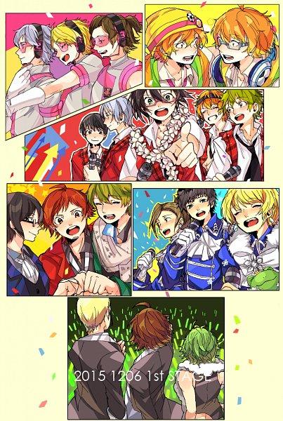 Tags: Anime, Pixiv Id 24799739, THE iDOLM@STER: SideM, THE iDOLM@STER, Sakaki Natsuki, Pierre (iDOLM@STER: SideM), Hazama Michio, Mitarai Shouta, Fuyumi Jun, Maita Rui, Takajou Kyouji, Watanabe Minori, Ijuuin Hokuto