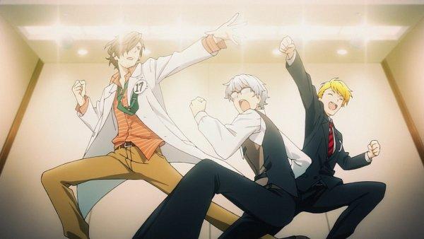 Tags: Anime, THE iDOLM@STER: SideM, Maita Rui, Yamashita Jiro, Hazama Michio, Screenshot, Wallpaper