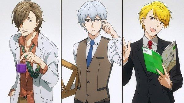 Tags: Anime, THE iDOLM@STER: SideM, Hazama Michio, Maita Rui, Yamashita Jiro, Screenshot, Wallpaper