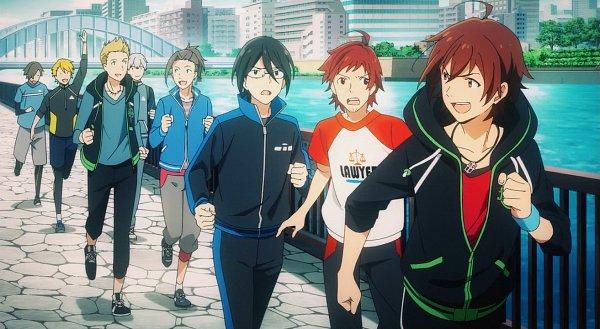Tags: Anime, THE iDOLM@STER: SideM, THE iDOLM@STER, Ijuuin Hokuto, Watanabe Minori, Amagase Touma, Tendou Teru, Maita Rui, Sakuraba Kaoru, Yamashita Jiro, Hazama Michio, Screenshot