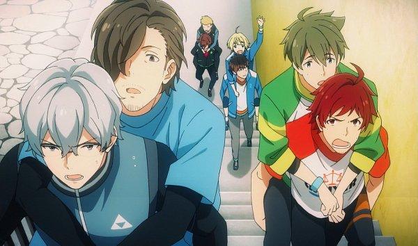 Tags: Anime, THE iDOLM@STER: SideM, THE iDOLM@STER, Ijuuin Hokuto, Pierre (iDOLM@STER: SideM), Amagase Touma, Takajou Kyouji, Yamashita Jiro, Kashiwagi Tsubasa, Hazama Michio, Tendou Teru, Screenshot