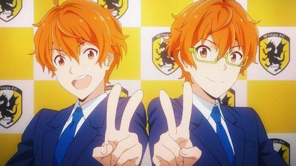 Tags: Anime, THE iDOLM@STER: SideM, Aoi Yuusuke, Aoi Kyousuke, Wallpaper, Screenshot