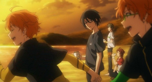 Tags: Anime, THE iDOLM@STER: SideM, Sakuraba Kaoru, Kashiwagi Tsubasa, Aoi Kyousuke, Aoi Yuusuke, Tendou Teru, Screenshot