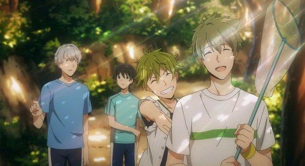 Tags: Anime, THE iDOLM@STER: SideM, Kashiwagi Tsubasa, Akiyama Hayato, Hazama Michio, Fuyumi Jun, Screenshot