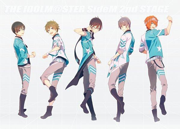 Tags: Anime, THE iDOLM@STER: SideM, Fuyumi Jun, Wakazato Haruna, Iseya Shiki, Akiyama Hayato, Sakaki Natsuki, Map (Mangaka), Pixiv, Fanart, Fanart From Pixiv