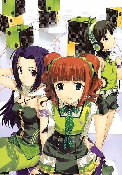Tags: Anime, Fujima Takuya, Namco, THE iDOLM@STER, Kikuchi Makoto, Miura Azusa, Takatsuki Yayoi, Tomboy, The Idolmaster