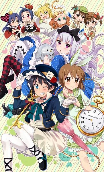 Tags: Anime, Hiiringu, THE iDOLM@STER, Futami Ami, Shijou Takane, Futami Mami, Takatsuki Yayoi, Hoshii Miki, Hagiwara Yukiho, Miura Azusa, Kisaragi Chihaya, Ganaha Hibiki, Tweedledee (Cosplay), The Idolmaster