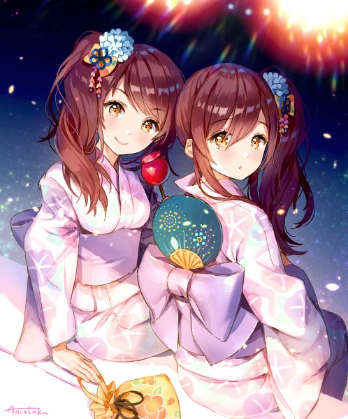 Tags: Anime, Ancotaku, THE iDOLM@STER, The iDOLM@STER: Shiny Colors, Oosaki Tenka, Oosaki Amana, Fanart, The Idolmaster