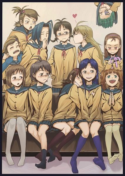 Tags: Anime, Aerodog, Namco, THE iDOLM@STER, Takatsuki Yayoi, Kisaragi Chihaya, Hoshii Miki, Minase Iori, Kikuchi Makoto, Akizuki Ritsuko, Otonashi Kotori, Amami Haruka, Futami Ami, The Idolmaster