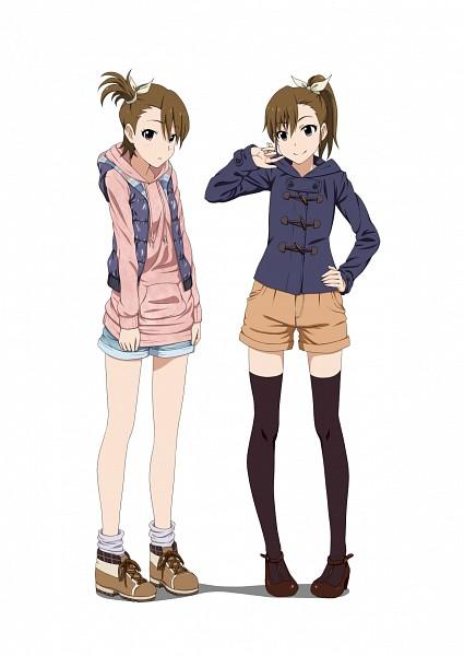 Tags: Anime, Iyakun, THE iDOLM@STER, Futami Ami, Futami Mami, The Idolmaster