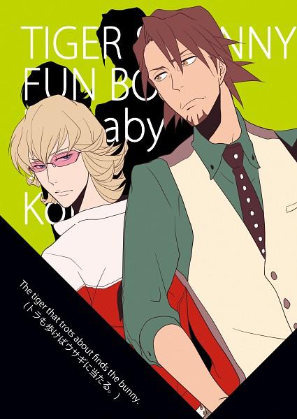 Tags: Anime, Pixiv Id 1108718, TIGER & BUNNY, Kaburagi T. Kotetsu, Barnaby Brooks Jr., Pixiv, Fanart