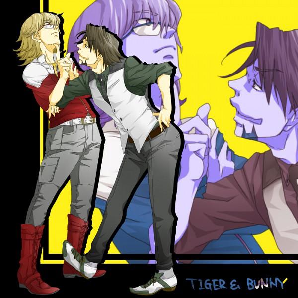 Tags: Anime, Tenpurako, TIGER & BUNNY, Kaburagi T. Kotetsu, Barnaby Brooks Jr., Pixiv, Fanart