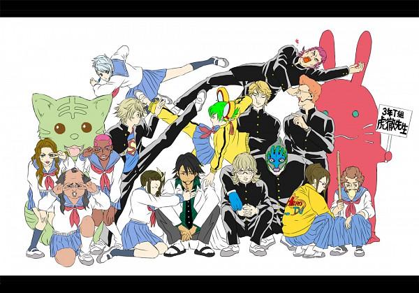 Tags: Anime, TIGER & BUNNY, Keith Goodman, Blue Rose (T&B), Dragon Kid, Karina Lyle, Pao-lin Huang, Kaburagi T. Kotetsu, Ivan Karelin, Barnaby Brooks Jr., Nathan Seymour, Gintama (Parody), Pixiv