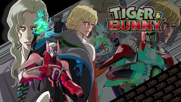 Tags: Anime, TIGER & BUNNY, Barnaby Brooks Jr., Lunatic (T&B), Yuri Petrov, HD Wallpaper, Official Art, Official Wallpaper, Wallpaper