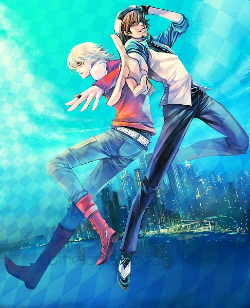 Tags: Anime, Ecthelian, TIGER & BUNNY, Kaburagi T. Kotetsu, Barnaby Brooks Jr., deviantART