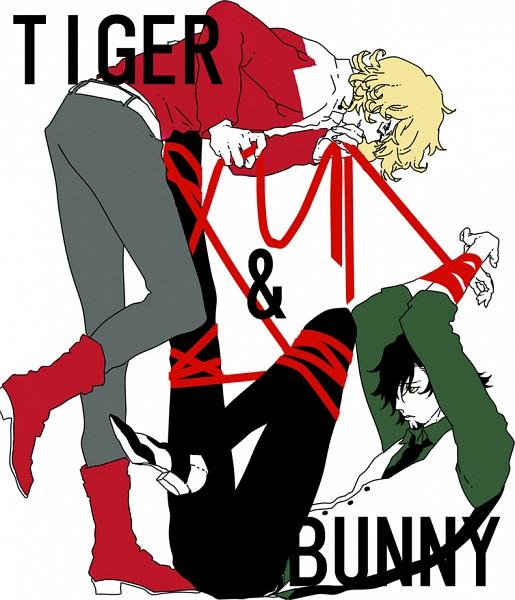 Tags: Anime, Pixiv Id 2641642, TIGER & BUNNY, Kaburagi T. Kotetsu, Barnaby Brooks Jr., Pixiv