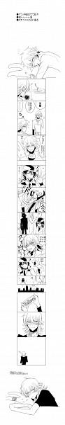 Tags: Anime, Pixiv Id 171383, TIGER & BUNNY, Barnaby Brooks Jr., Barnaby's Stuffed Rabbit, Ivan Karelin, Kaburagi T. Kotetsu, Comic
