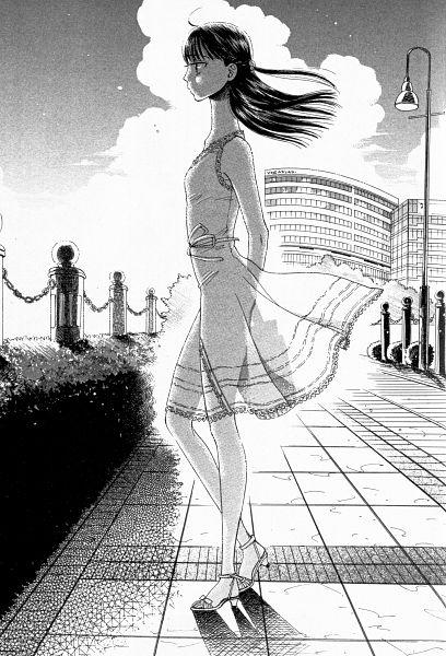 Tags: Anime, Mayuzuki Jun, Koi wa Ameagari no You ni, Tachibana Akira, Official Art, Manga Page, Scan