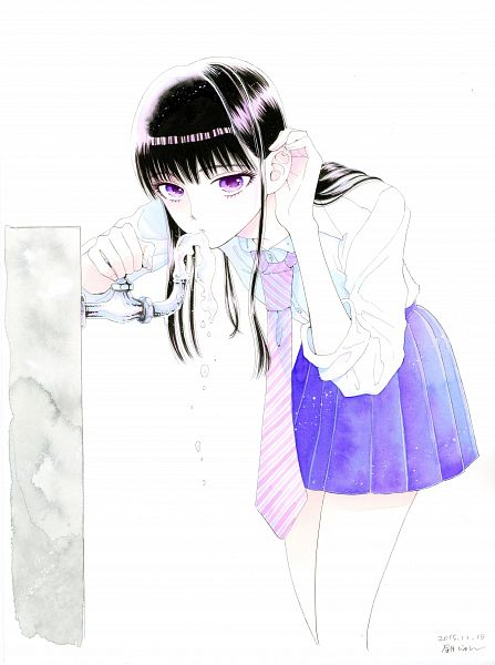 Tags: Anime, Mayuzuki Jun, Koi wa Ameagari no You ni, Tachibana Akira, Scan, Official Art