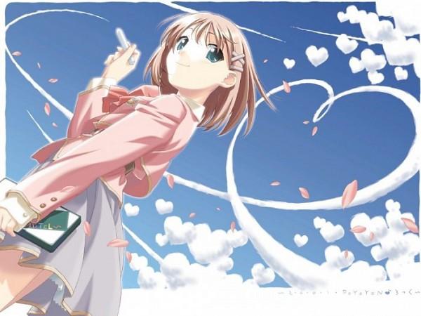 Tags: Anime, Watanabe Akio, F&C, Canvas ~Sepia-iro no Motif~, Tachibana Amane, Chalk, Paint My Life