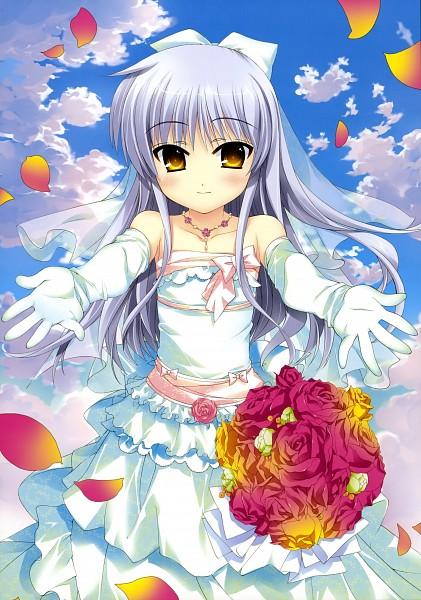 Tags: Anime, Fujima Takuya, Angel Beats!, Tachibana Kanade, Mobile Wallpaper