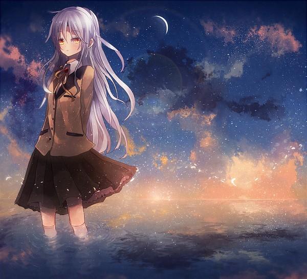 Tags: Anime, Shinta (Nikka10), Angel Beats!, Tachibana Kanade, Fanart From Pixiv, Pixiv, Fanart, PNG Conversion