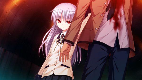 Tags: Anime, Na-ga, KEY (Studio), Angel Beats!, Tachibana Kanade, Wallpaper, CG Art