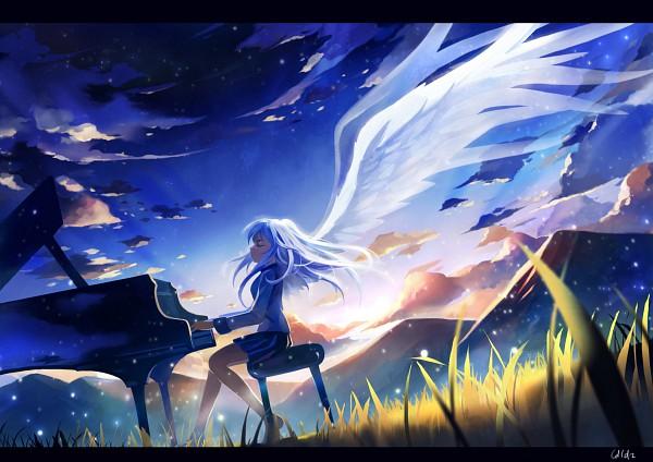 Tags: Anime, Ldld2, Angel Beats!, Tachibana Kanade, Pixiv, Fanart From Pixiv, Fanart