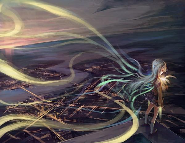 Tags: Anime, Monono, Angel Beats!, Tachibana Kanade, Pixiv, Fanart From Pixiv, Fanart