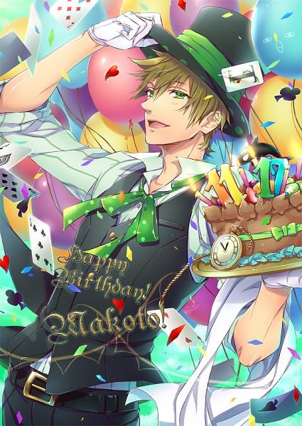 Tags: Anime, Himeichiko, Free!, Tachibana Makoto, Pocket Watch, Fanart, Fanart From Pixiv, Mobile Wallpaper, Pixiv