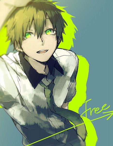 Tags: Anime, Sidu, Free!, Tachibana Makoto, PNG Conversion, Fanart, Tumblr