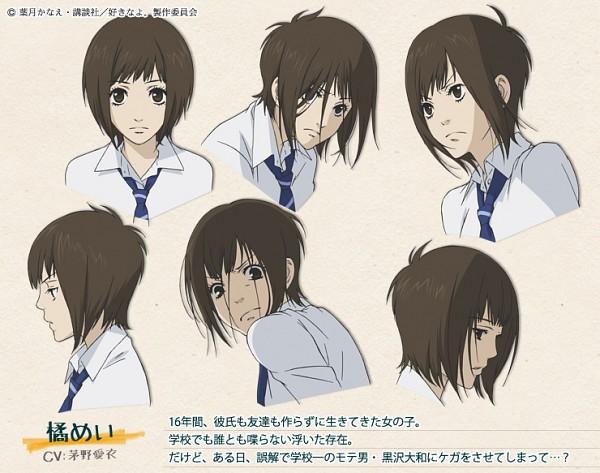 Tags: Anime, ZEXCS, Suki-tte Ii na yo., Tachibana Mei, Expression Chart, Character Sheet, Official Character Information, Official Art